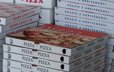 personalized pizza boxes